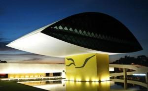Projetado por Oscar Niemeyer, Museu do Olho